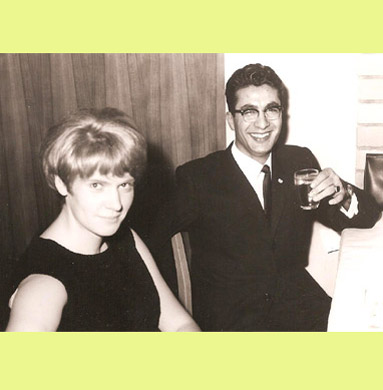 Ghazi & Maria Twal, students in Germersheim in 1966/67