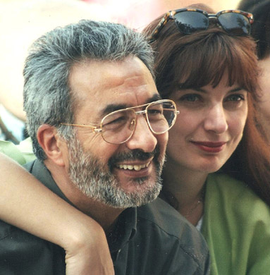 Ghazi & Eva, just married – Cairo 1997