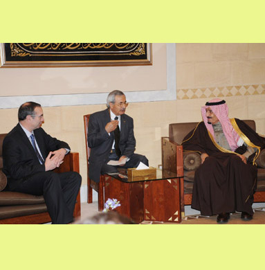 Interpretation for Berlin Economy Minister Wolf in Riyadh